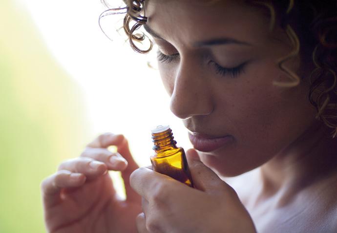 Inhalacija eteričnega olja