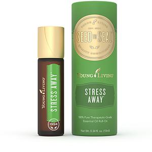 Mešanica eteričnih olj brez stresa roll on