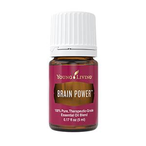 mešanica eteričnih olj moč možganov