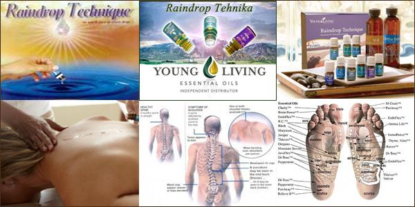 Raindrop tehnika young living